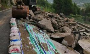 阆中市陈家岩地质灾害正式进入施工阶段