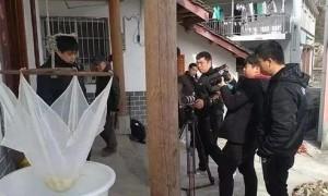 中国国际电视台栏目组走进阆中市洪山镇